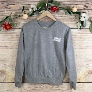 Womens Small Dunder Mifflin The Office Sweatshirt